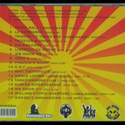 Weasel Busters Best Of CD