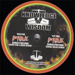Knowledge And Wisdom Records NEG012