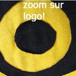 Robe WAR Logo Jaune Style 'déchiré'