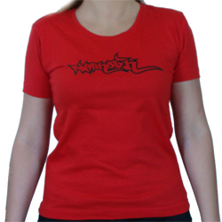 T Shirt Fille Rouge Narkotek Underground
