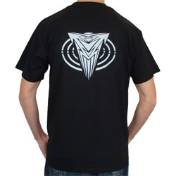 T Shirt Noir Narkotek DJ Logo