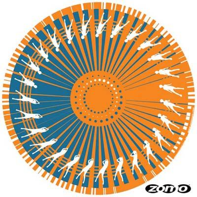 Feutrines Dance Orange