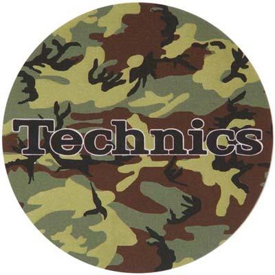 Slipmats Technics Camouflage Army