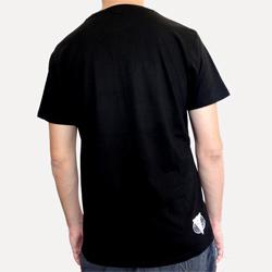 T Shirt Noir Narkotag + Logo