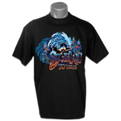 Black Psychedelic T-shirt
