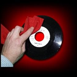 Tissus Antistatique Nettoyage Vinyl