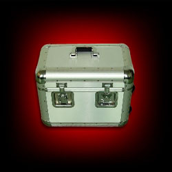 Flight Case 70 LP Argent Trolly