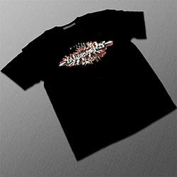 T-Shirt Noir 'Undergroundtekno'