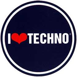 Feutrines I Love Techno