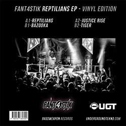 Reptilians Vinyl Ep