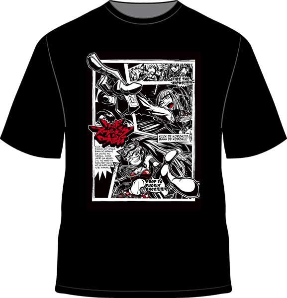 T Shirt Sharpnelsound