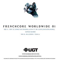 Frenchcore Worldwide 01 (vinyl)