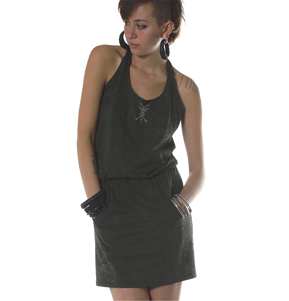 Dress Pendant Olive
