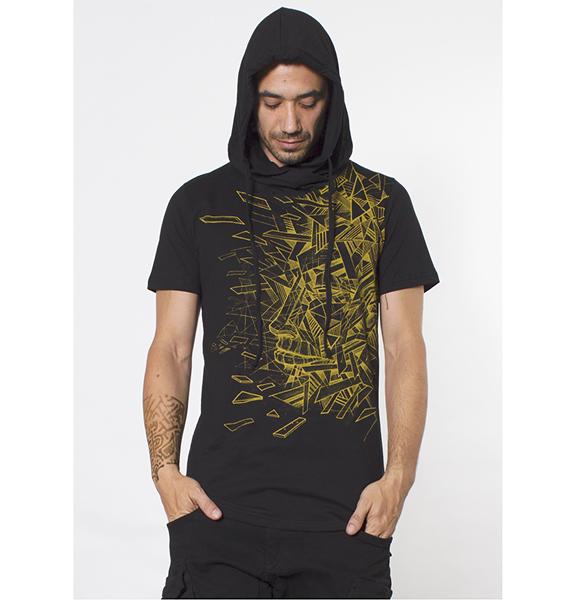 T Shirt Angle Black
