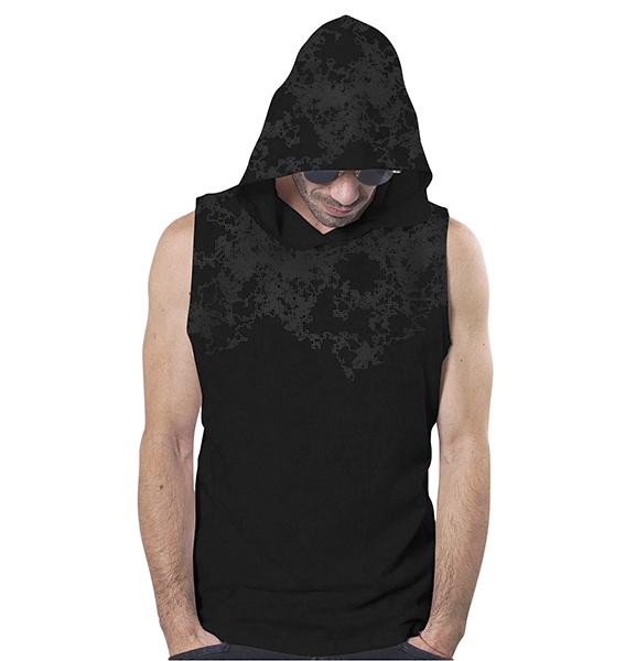 T Shirt Cyberis Acid Black Tank