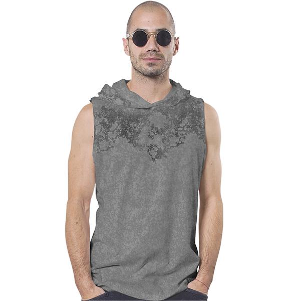 T Shirt Cyberis Acid Grey Tank