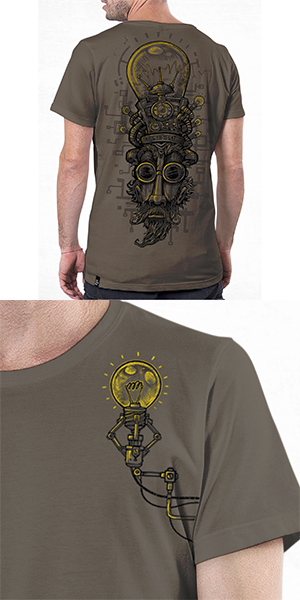 T Shirt Dr. Lamps Stone