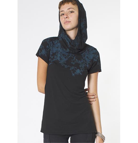 T Shirt Women Cyberis Black