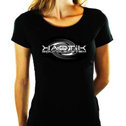 T-shirt Fille KAOTIK Noir