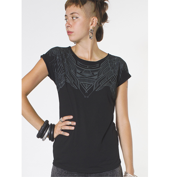 T Shirt Women Yanshu Black