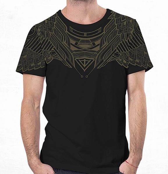 T Shirt Yanshu Black