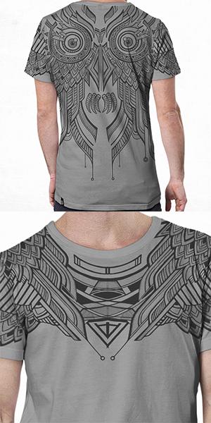 T Shirt Yanshu Light Grey