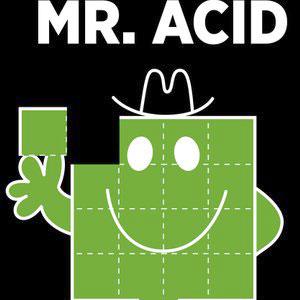 T Shirt Mr Acid Vert