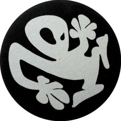 Slipmats - Plasticman - black-silver