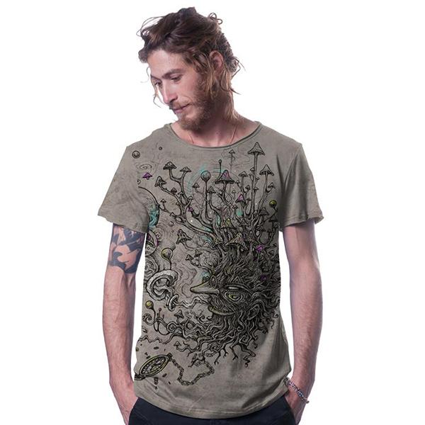 T Shirt Shroombeard Desert Wash