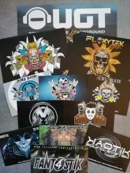 Pochette de 12 Stickers