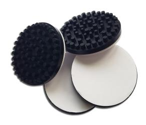 Anti-vibration feet for record players